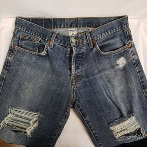 Lucky Brand Men's Jean's sz 30x33 Very distressed